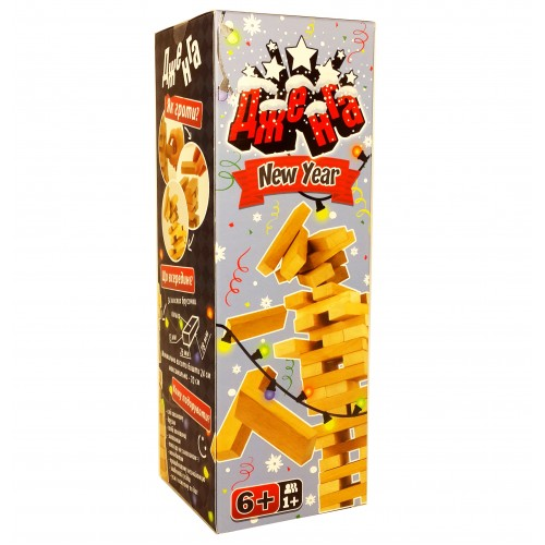 Дженга (Jenga) New Year