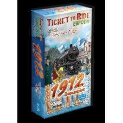 Ticket to Ride: Европа 1912 (дополнение)