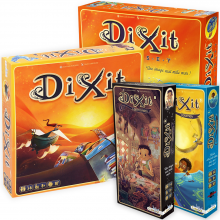 Новогодний набор Диксит (Dixit). Базовая игра и 2 дополения