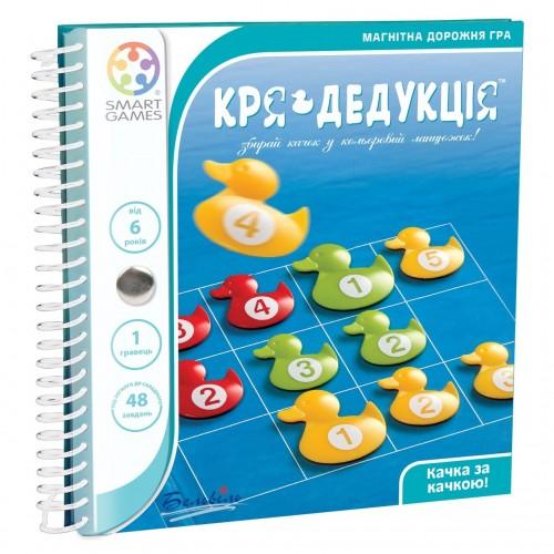 Дорожная магнитная игра Кря-Дедукция (Кря-Дедукція)