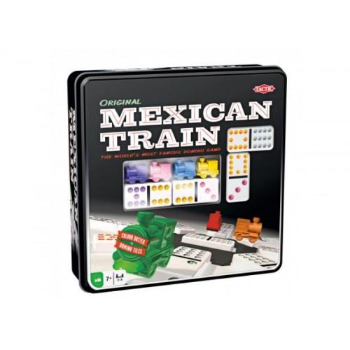 Мексиканский Поезд (в металл. коробке) (Mexican Train)