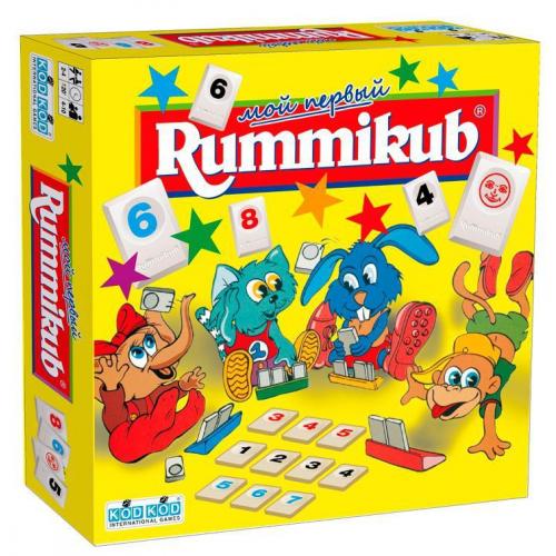 Мой первый Rummikub (Руммикуб)
